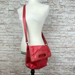 SALE‼️Lucky Brand red leather crossbody bag